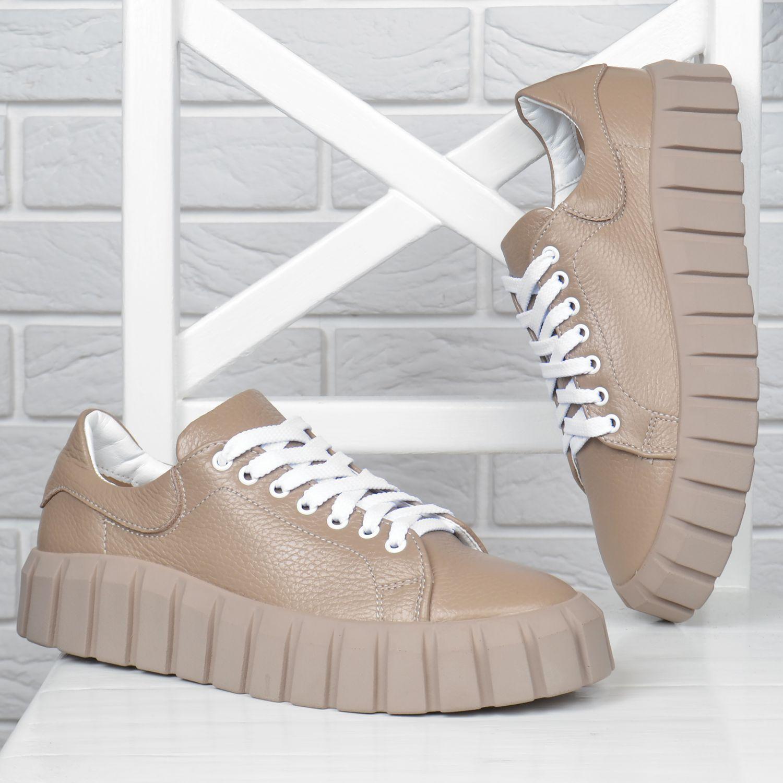 ᐉ Купить Туфли женские кожаные на платформе Украина ...
