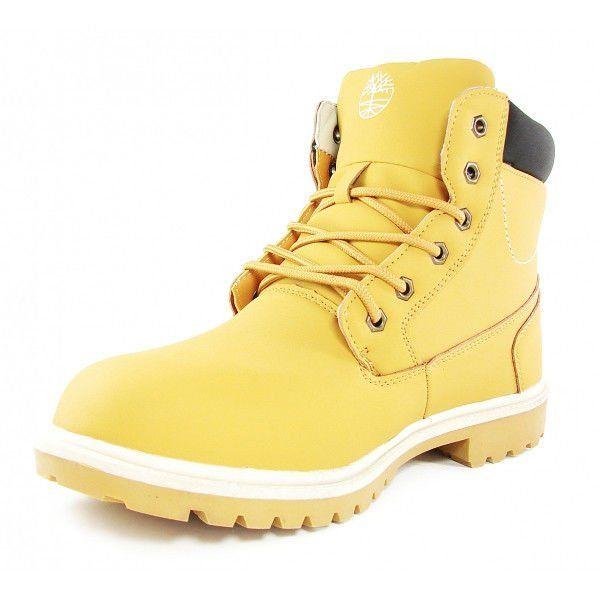 Черевики чоловічі зимові шкіряні на хутрі Timberland Classic Yellow f2046886a2365
