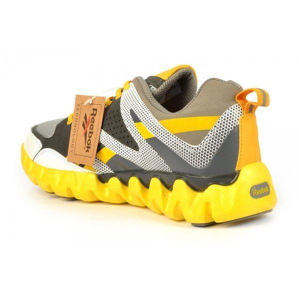 e05ddff17 ᐉ Купить Кроссовки мужские желтые Reebok Zigtech – в интернет ...