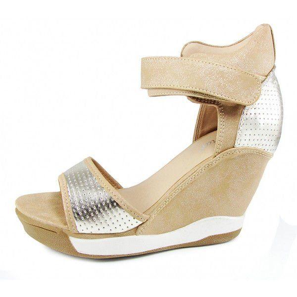 91c13da7cca5fb ᐉ Купити Снікерси босоніжки літні жіночі Sneakers Silver Summer ...