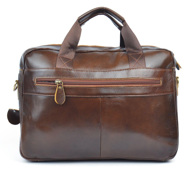 41ffa32cddbb ᐉ Купить Сумка мужская кожаная портфель коричневая Premium Украина ...
