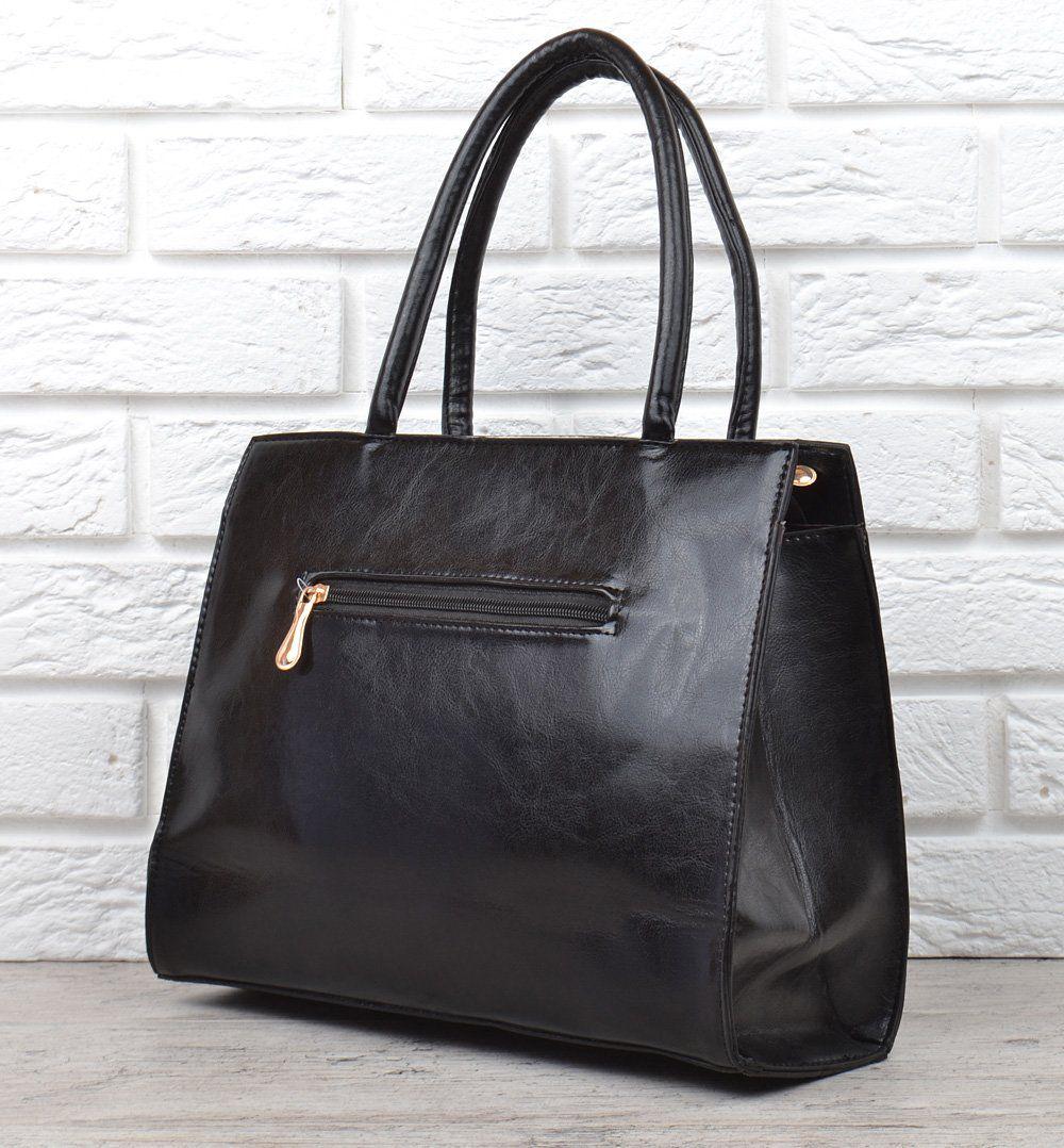 7fc8cfa7ca1da5 ᐉ Купити Сумка жіноча каркасна чорна black Bag класична – в ...
