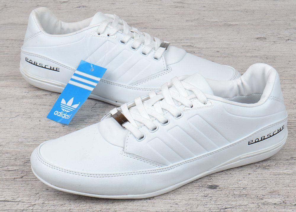 Кросівки чоловічі шкіряні літні білі Adidas Porsche Design S3 white В єтнам fe83ccb868f63