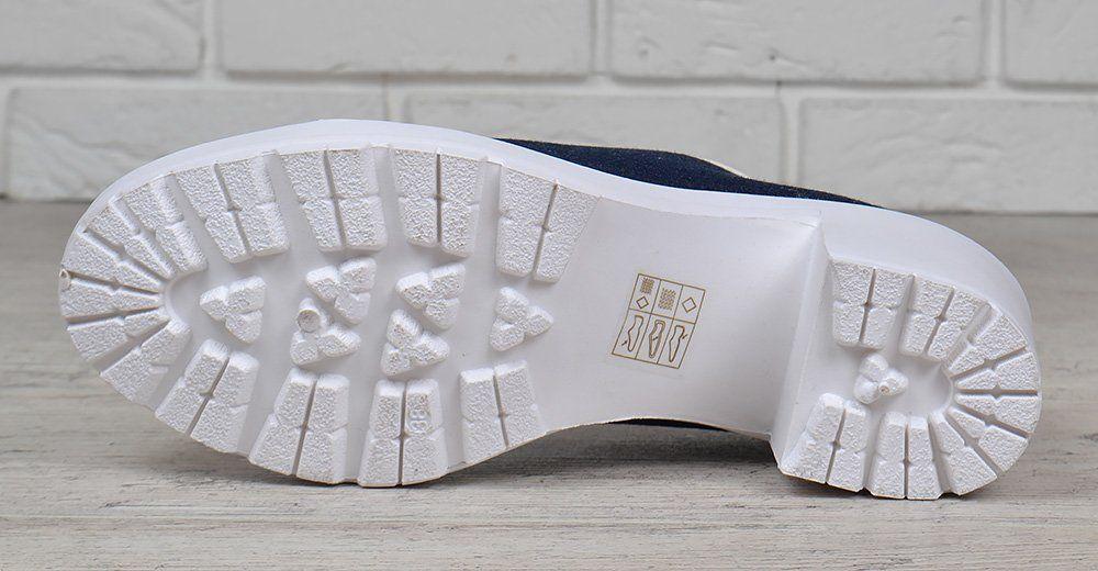 56504a7d3 ᐉ Купить Туфли женские джинс на широком каблуке Miu Miu style – в ...