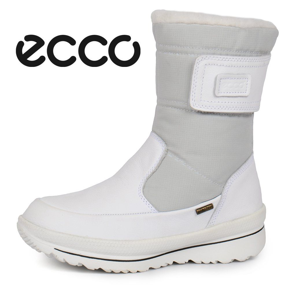 b4cda81fdd46 ᐉ Купити Чоботи жіночі зимові шкіряні Ecco Gore-Tex Terra White ...