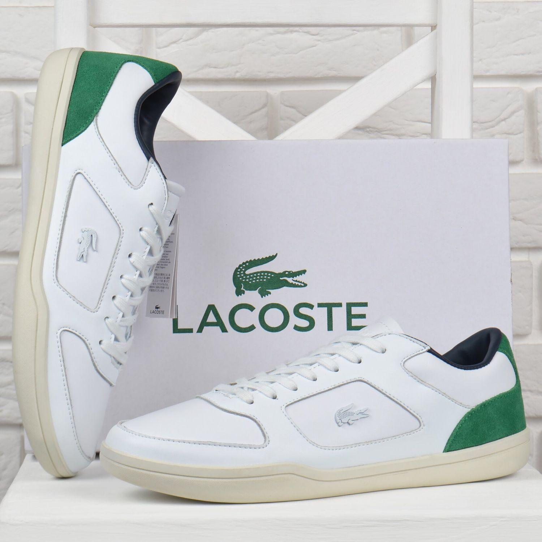 lacoste кеды кожаные мужские