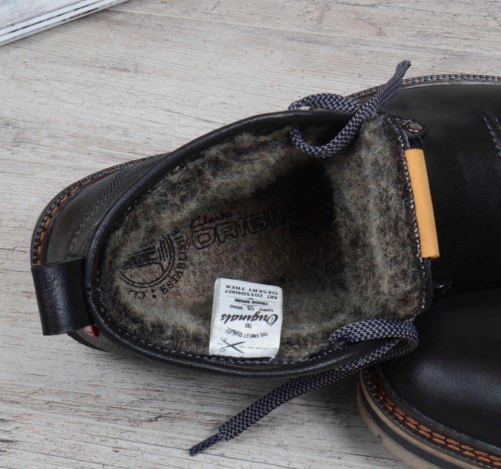 ᐉ Купити Черевики чоловічі шкіряні зимові Clarks Urban Tribe black – в  інтернет-магазині в Києві 88322a831675c