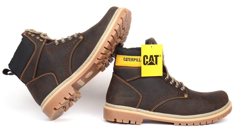 9f48db3d6e0421 ᐉ Купити Ботинки чоловічі шкіряні CAT Caterpillar dark brown – в ...
