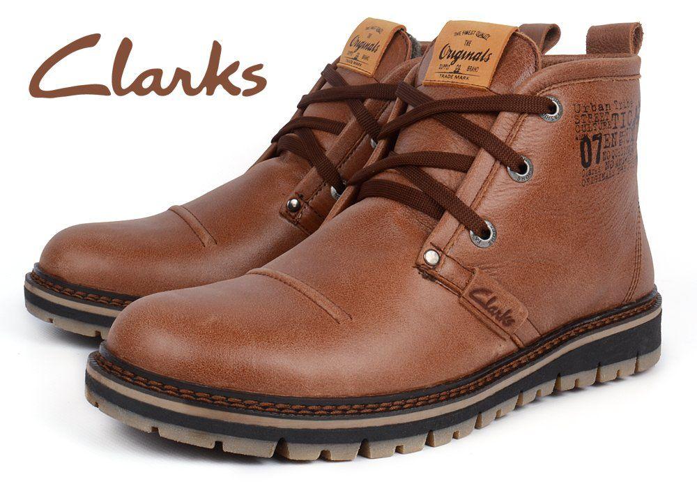 ᐉ Купити Черевики чоловічі шкіряні зимові Clarks Urban Tribe brown ... c0ca6cbd39fdf