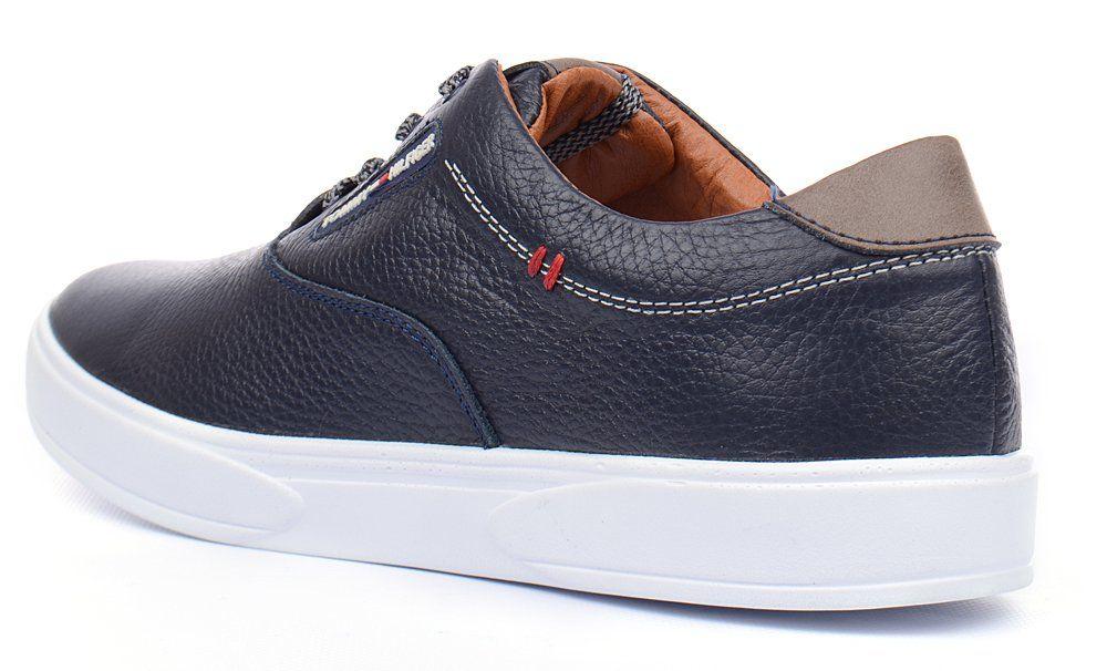 601c4466b5a3 ᐉ Купить Кеды слипоны мужские кожаные Tommy Hilfiger синие на ...