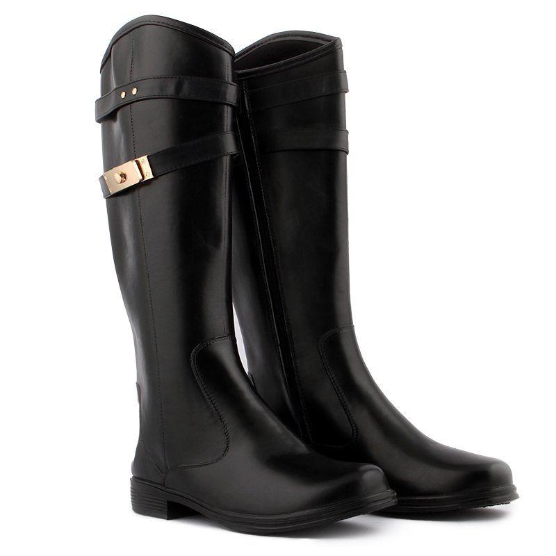 412e31a799ec77 ᐉ Купити Чоботи жіночі гумові високі чорні на блискавці Beauty ...