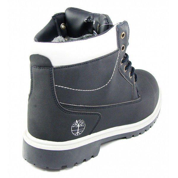 ᐉ Купити Черевики чоловічі зимові шкіряні Timberland Black Premium ... b205f98a770f8