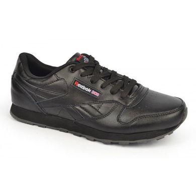 ᐉ Купити Кросівки чоловічі шкіряні чорні Reebok Classik – в ... 69cc43f7a88ab