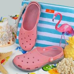 0a1d82f08 Купить Сабо женские кроксы пудровые Pink clogs силиконовые влагостойкие  фото, в интернет-магазине обуви