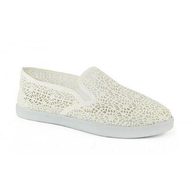 55a139326 Купить Слипоны женские белые кружевные ажурные «Ангел» фото, в  интернет-магазине обуви ...