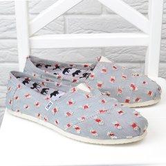 b7829d3cec0dec Купити. КупитиКеди чоловічі еспадрільї Toms світлий джинс текстильні фото,  в інтернет-магазині взуття Nanogu.