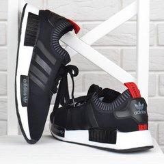 d370eff6ef85f8 Купити. КупитиКросівки чоловічі Adidas Boost Black текстильні чорні з  червоним фото, в інтернет-магазині взуття