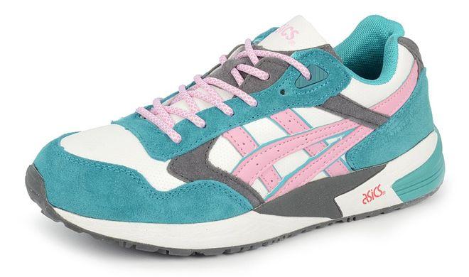 КупитиКросівки жіночі замш і шкіра Asics Gel lyte V м ятно білі з рожевим  фото ... 8af63503f1e77