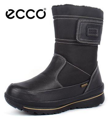 ᐉ Купить Сапоги женские зимние кожаные Ecco Gore-Tex Terra – в ... 4d8176dbd9829