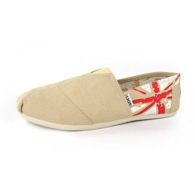 3a4f2600703b78 КупитиКеди еспадрільї чоловічі бежеві з британським прапором фото, в  інтернет-магазині взуття Nanogu.