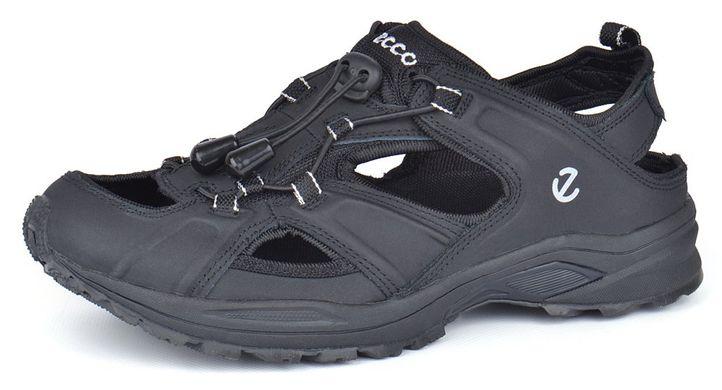 Купить Сандалии мужские кожаные черные Ecco спортивные фото dc029b9c9d817