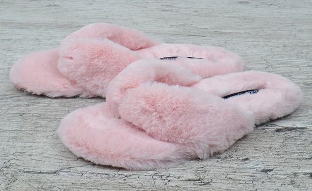 a1f8da5c024270 ... КупитиТапочки жіночі хутряні в'єтнамки Туреччина Comer пудра рожеві  фото, в інтернет-магазині