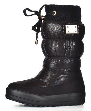 74475ddf4 Купить Дутики женские кожаные зимние сапоги на овчине Prima d'Arte на  платформе фото, ...