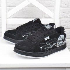 cd9f7da85cd830 КупитиКросівки замшеві Vans Rowley Squares чорні з черепами фото, в  інтернет-магазині взуття Nanogu