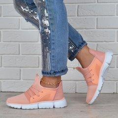 Купити. КупитиКросівки жіночі текстильні персикові Peach powder на шнурівці  фото 8f6f90db6bcec