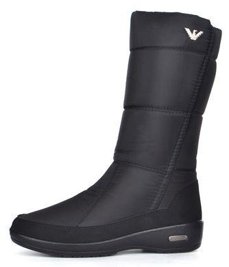 781cf825c Купить Дутики женские завышенные зимние сапоги черные Classic на платформе  фото, в интернет-магазине ...