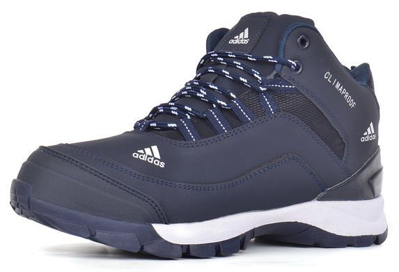 1be7150c0e4587 КупитиКросівки чоловічі зимові Adidas ClimaProof сині на хутрі фото, в  інтернет-магазині взуття Nanogu ...