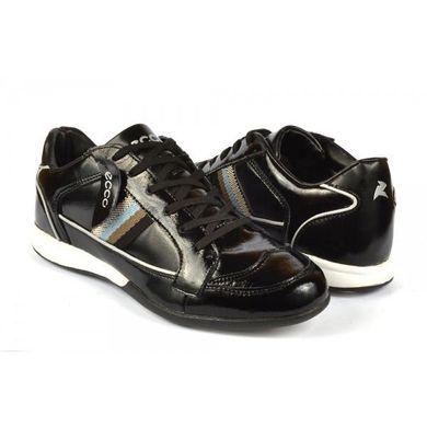 5fa8c32476c941 КупитиКросівки стильні чоловічі лакові чорного кольору фото, в  інтернет-магазині взуття Nanogu.com ...