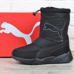 КупитиДутики спортивні зимові чоботи Puma Trinomic чорні з кулісою фото 71b785be7e997