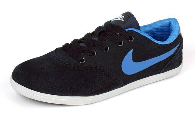 ᐉ Купити Кросівки жіночі замшеві темно-сині Nike Zoom – в інтернет ... bd66451569903