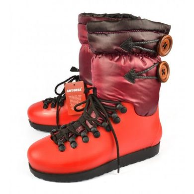 ᐉ Купити Чоботи жіночі зима червоні на флісі Everest – в інтернет ... af43865fb544b