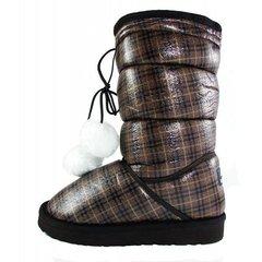 КупитиУгги чобітки жіночі зимові коричневі фото 1cbe8e3a5d595