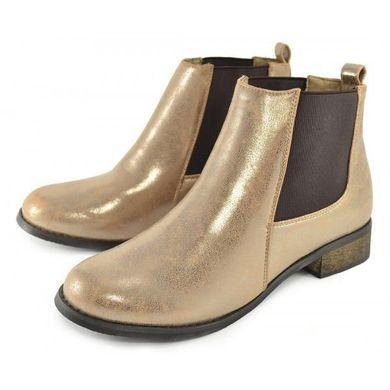 ef3b59c1ad3a Купить Ботинки челси Zara Gold Зара золото фото, в интернет-магазине обуви  Nanogu.