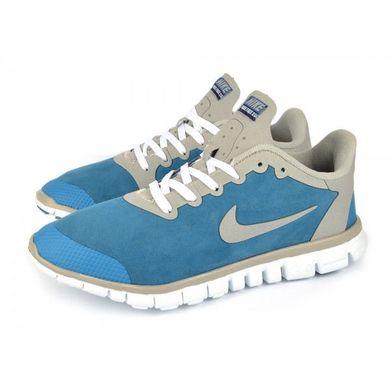 47c66c22 Купить Кроссовки мужские синие Nike Free Run 3.0 на гибкой белой подошве  фото, в интернет ...