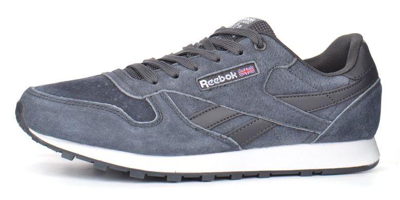 85147831a6562a Купить Кроссовки мужские замшевые Reebok Classic серые фото, в  интернет-магазине обуви Nanogu.