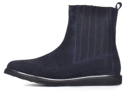 4eb38d46 Купить Ботинки женские замшевые синие челси завышенные Good shoes Украина  фото, в интернет-магазине ...