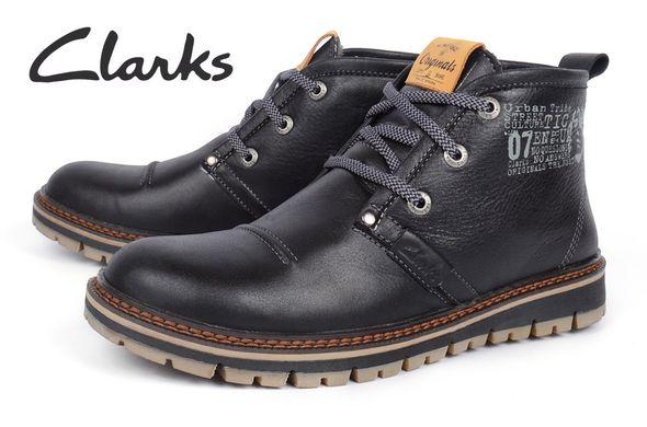 ᐉ Купити Черевики чоловічі шкіряні зимові Clarks Urban Tribe black ... 6c827a7c9b00b