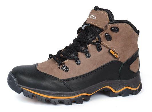 ᐉ Купить Ботинки зимние кожаные на меху Ecco Gore-tex хаки – в ... 89ecd7b1abaed