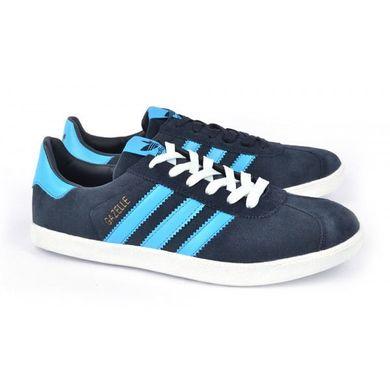 ᐉ Купити Кросівки чоловічі замшеві сині Adidas Gazelle – в інтернет ... b2ecd008a5e9b