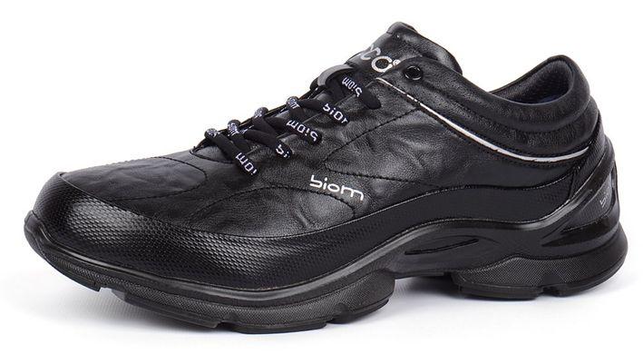 Купить Ботинки мужские зимние кожаные Ecco biom natural motion black фото 13404929b72e1