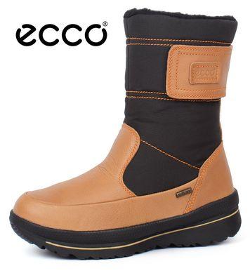 ᐉ Купити Чоботи жіночі зимові шкіряні Ecco Gore-Tex Terra Brown – в ... 09ac9281aea1f