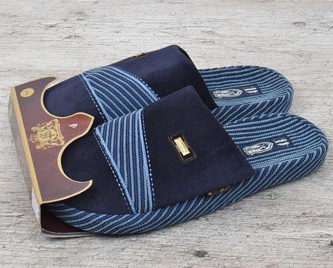 abe7782b76e8b ... Купить Тапочки домашние мужские 4Rest Classic blue ортопедическая  стелька фото, в интернет-магазине обуви ...