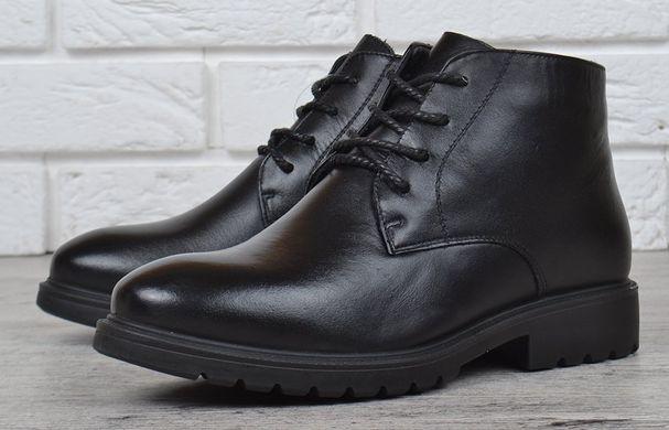 ᐉ Купити Черевики жіночі шкіряні на шнурівці чорні City comfort – в ... 246baca666008