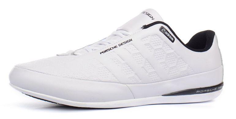 34adca48afd4 Купить Кроссовки мужские кожаные Adidas Porsche Design белые фото, в  интернет-магазине обуви Nanogu ...