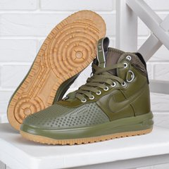b4f11eaa КупитиКросівки жіночі Nike Lunar Force 1 Duckboot Medium Olive хакі оливка  фото, в інтернет-