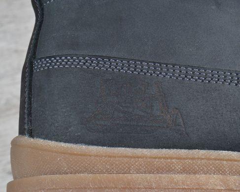 af248f33fa6e0b ... КупитиЧеревики чоловічі шкіряні зимові CAT Caterpillar black натуральне  хутро фото, в інтернет-магазині взуття ...